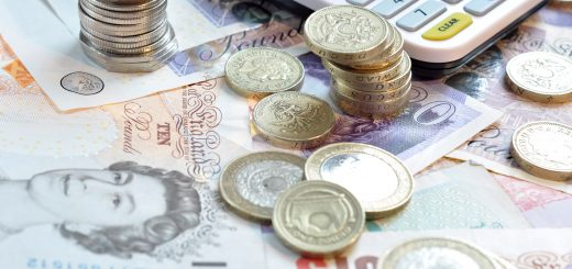 uk sterling pounds notes and coins